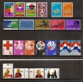 Complete Jaargang 1972 Postfris