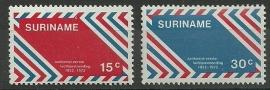 Suriname 584/585 Postfris