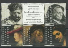 Nvph 2429/2433 Rembrandt Postfris