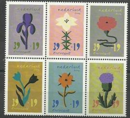 Nvph 2252/2257 Zomerzegels 2004 Postfris