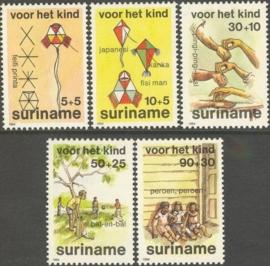 Suriname Republiek 427/431 Kinderzegels 1984 Postfris