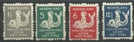 Roltanding 82/85 Kinderzegels 1929 Ongebruikt