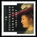 Nvph 2435 B Rembrandt Saskiazegel Postfris