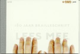 PR 23 180 Jaar Brailleschrift (2009)