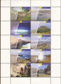 Curaçao Status Aparte 162/171V Blok Toerisme 2013 Postfris