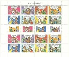 Nederlandse Antillen V1732/1739 Cartoons 2007 Postfris