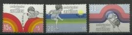 Nederlandse Antillen 457/459 Postfris