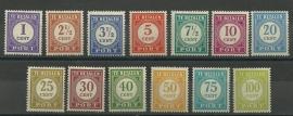 Nederlands Indië Port 53/65 Postfris