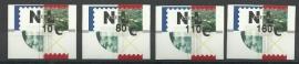 AU 33 Automaatzegels Hytech Strook Postfris