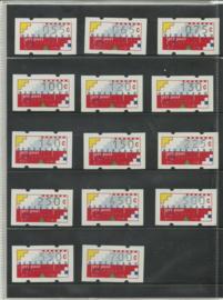 Supplement Klussendorf 1989 in originele verpakking Postfris