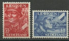 Nvph 402/403 Legioenzegels Postfris