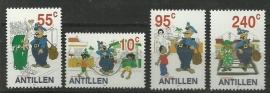 Nederlandse Antillen 1393/1396 Strippostzegels 2002 Postfris