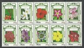 Aruba 472/481 Bloemen 2010 Postfris