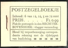 PZ 38-N 4 × 6 (Nvph 172/379/380/381) Roomkleurige Kaft ( 8)