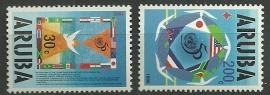 Aruba 154/155 Postfris