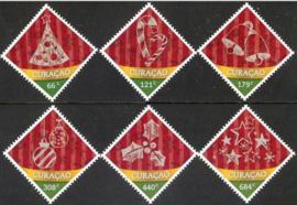 Curaçao Status Aparte 341/346 Decemberzegels 2016 Postfris