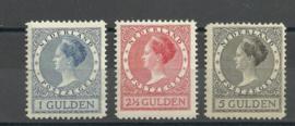 Nvph 163A/165A (11½×11½) Veth Hoge Waarden Ongebruikt (7)