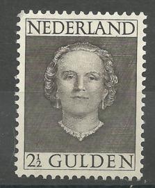 Nvph 535 2½ Gld En Face Postfris (bemerking)