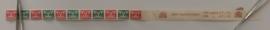 Rolzegel 379a/d Vliegende Duif Combi. in Beginstrip van 11 stuks Postfris + Plaatfout