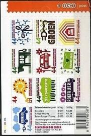 Nvph Va2550/2559  10 × 0,44ct TNT Logo Postfris (Nieuw Tarief)
