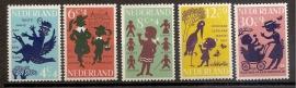Nvph  802/806 Kinderzegels 1963 Postfris