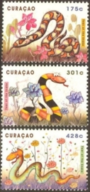 Curaçao Status Aparte 119/121 Jaar van de Slang 2013 Postfris