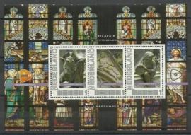 2012 (09) Persoonlijk Postzegelvel Filafair  Postfris