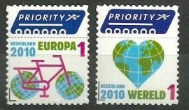 Nvph 2742/2743 Priorityzegels Postfris