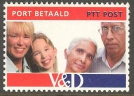 Port Betaald   8 Postfris