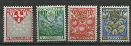 Nvph 199/202 Kinderzegels 1926 Postfris ( 8)