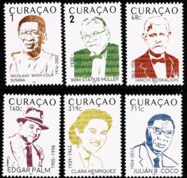 Curaçao Status Aparte 418/423 Muziek 2019 Postfris