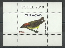 Curaçao Status Aparte    2 Blok Vogels Postfris