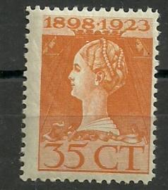 Nvph 127F (11½×11½) 35 ct Jubileum 1923 Postfris (2)