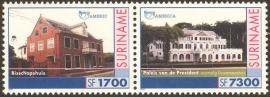 Suriname Republiek 1123/1124 U.P.A.E.P. 2001 Postfris