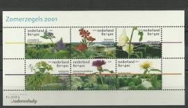 Nvph 1973 Zomerzegels 2001 Postfris