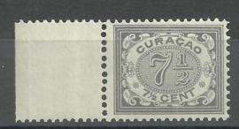 Curacao  34 7½ ct Cijfer Postfris (1) + Certificaat