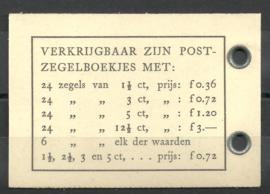 PZ 45 4 × 6 (Nvph 336) Roomkleurige Kaft