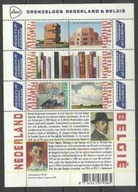 Nvph V3089/3094a Grenzeloos Nederland België Postfris
