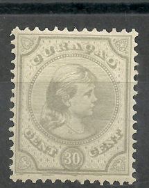 Curacao  23 30 ct Prinses Wilhelmina Postfris (1)