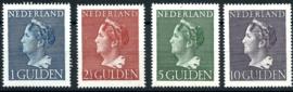Nvph 346/349 Hoge Waarden Konijnenburg Postfris + Certificaat (12)