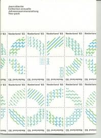 Jaarcollectie 1983 Postfris