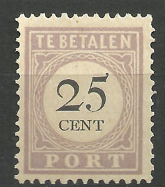 Suriname P 13fb 25ct Type I Ongebruikt (1)