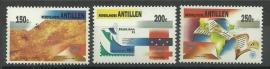 Nederlandse Antillen 1034/1036 Brasiliana 1993 Postfris