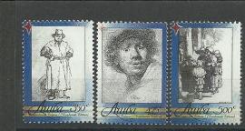 Aruba 411/413 Rembrandt Postfris