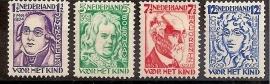 Nvph 220/223 Kinderzegels 1928 Ongebruikt