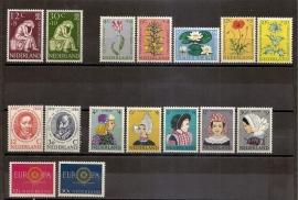 Complete Jaargang 1960 Postfris