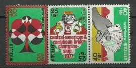 Nederlandse Antillen 541/543 Postfris