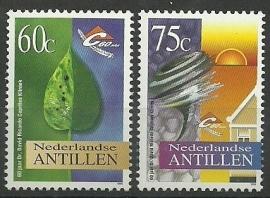 Nederlandse Antillen 1116/1117 Dr David Ricardo Capriles Kliniek Postfris