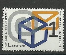 Nvph 2833 Beursnotering PostNL Postfris