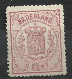 Nvph  16A 1½ct  Wapenzegel 1869/1871 Ongebruikt (3)